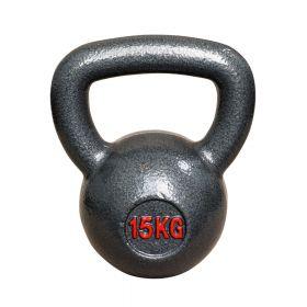 Kettlebell gietijzer - 15 kg