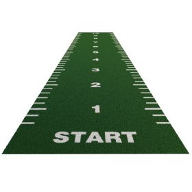 Sprinttrack Essential (kunstgras) - 10 x 2 m - Groen