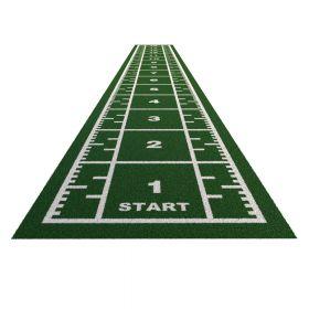 Sprinttrack Premium (kunstgras) - 15 x 2 m - Groen