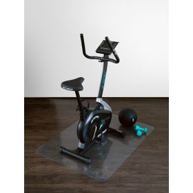 onderlegmat voor fitnessapparatuur transparant 120x150 cm